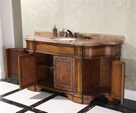72 inch vintage single sink bathroom vanity wb 2772l in