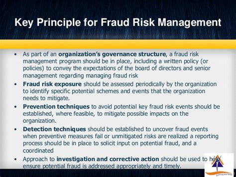 corruption risk assessment template fraud risk assessment detection and prevention part 2