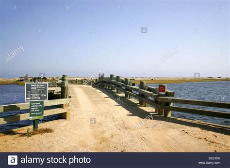 Martha S Vineyard Chappaquiddick Bridge Chappaquiddick Island Martha S Vineyard Cape Cod New Stock Photo Royalty Free