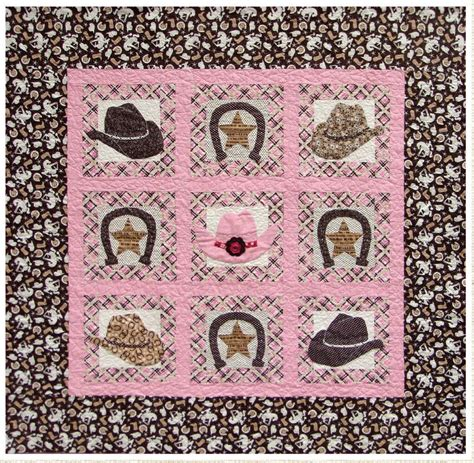 Cowboy Quilt Pattern by Lucky By Marian Gallian Craftsy