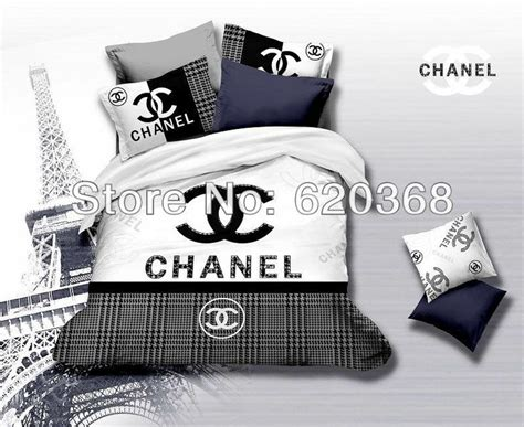 Aliexpress Com Buy Brand Name Logo Printed Black And Name Brand Bed Sets
