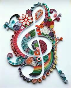278 images quilling musical notes instrumental ideas musical scores