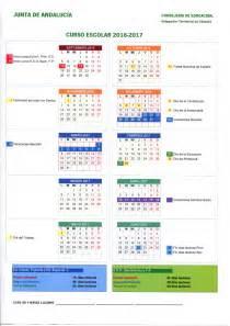 Calendario Escolar 2017 Malaga Calendario Escolares 2016 2017 Cordoba Imagenes Educativas