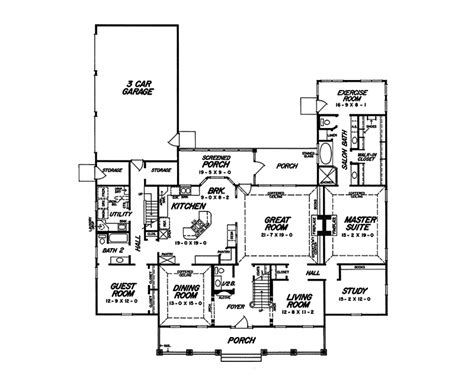 plantation house floor plans chesney manor plantation home plan 060d 0105 house plans