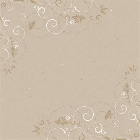 Modern Floral Wallpaper vintage background with a decorative floral frame vector