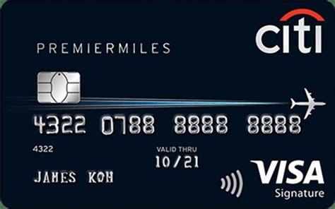 Citi Gift Card Visa - citi premiermiles visa signature air miles redemption