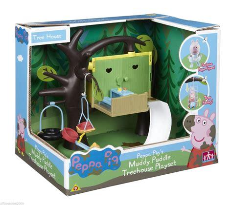 Peppa Pig House Playset by Peppa Pig Peppas Treehouse Playset New Sealed Ebay