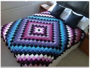 Owl Curtains Patchwork Crochet Free Pattern Diamond Design Crochet