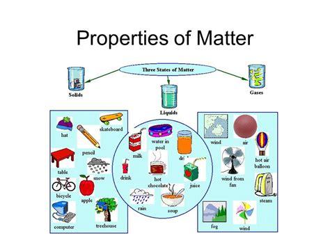 properties of matter for properties of matter ppt