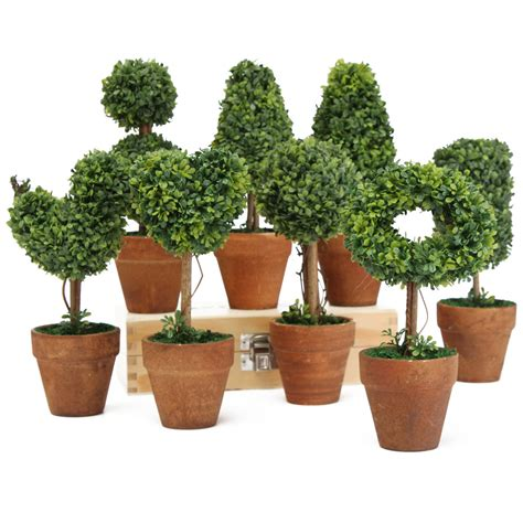 plastic topiary plants plastic garden grass topiary tree pot dried plant for