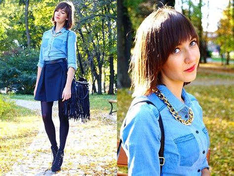 Blouse Kamila kamila b sinsay blouse mohito skirt chicnova bag autumn leaves lookbook