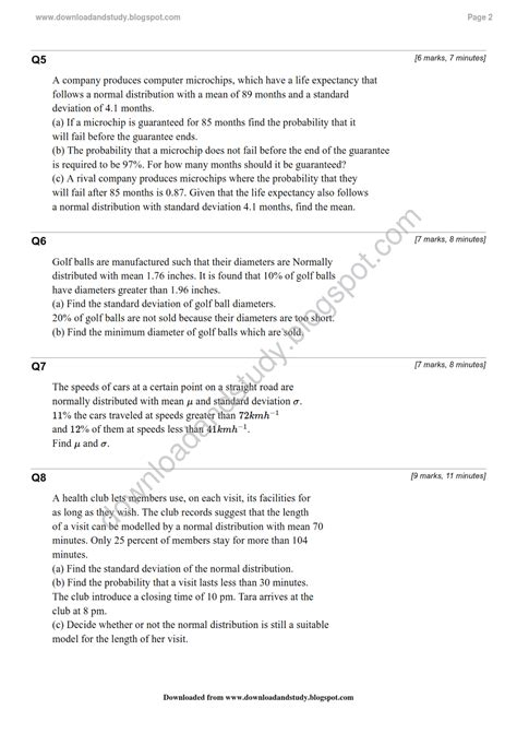 Distribution Worksheet by Normal Distribution Worksheet Lesupercoin Printables
