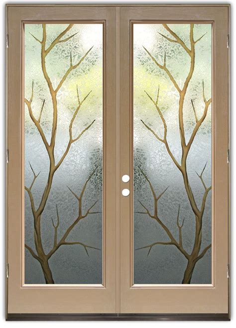 entry door glass branch out in color entry doors crafted