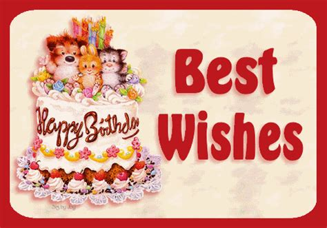 my best wishes happy birthday with all my best wishes