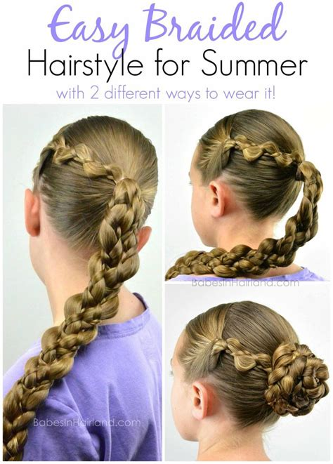 cool easy step hairstyles 50 best gymnastics hair images on pinterest easy