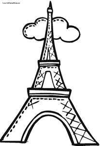 eiffel tower coloring page eiffel tower coloring page coloring pages eiffel tower