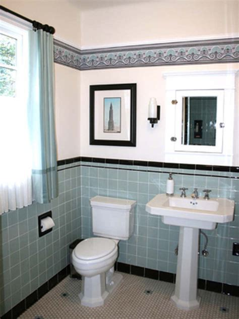 vintage bathroom design retro bathroom