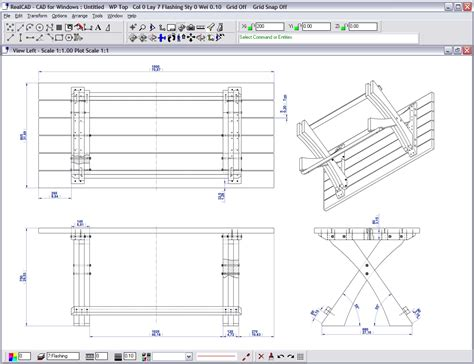 woodwork drawing software furniture cad software pdf woodworking