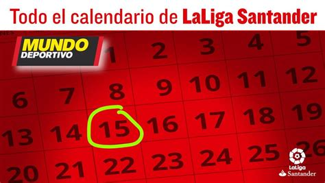 Calendario De Liga Santander Calendario De Laliga Santander 2017 2018