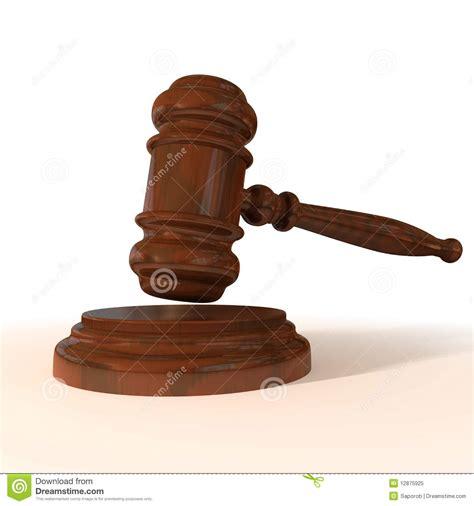 mallet  judge stock illustration illustration