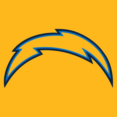 chargers logo los angeles chargers primary on logo national