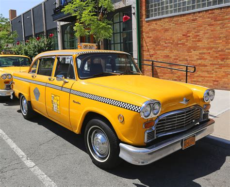 yellow cab dustbin of history the checker cab