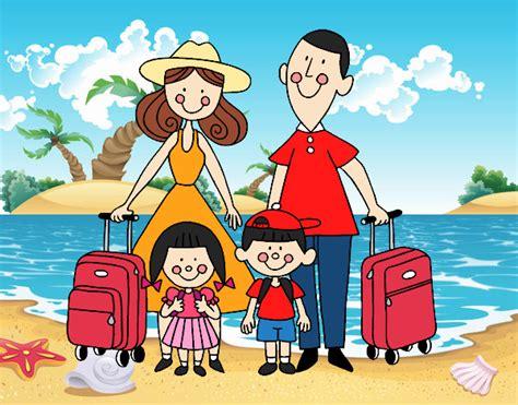 imagenes vacaciones con la familia vacaciones en familia dibujo www pixshark com images