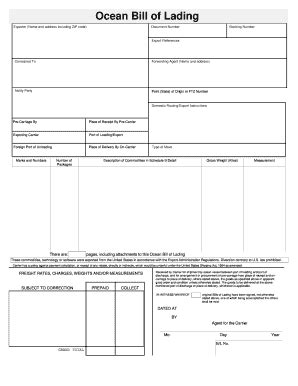 bill of lading template anuvrat info