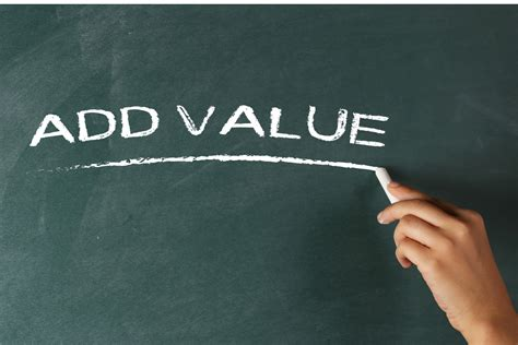 How To Add Value To Adding Value Without Adding Cost Nis Benefits