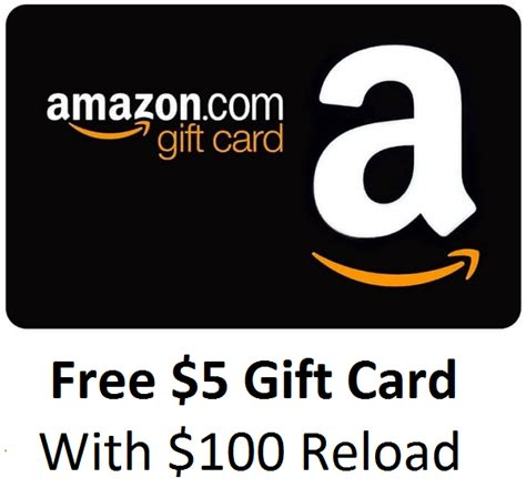 Receive Amazon Gift Card - ymmv reload your amazon giftcard balance with 100 receive 5 bonus doctor of credit