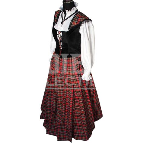 scottish lass dress mci 119 by collectibles