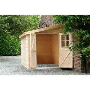 petit abri de jardin bois adossable nousu 4 67m 178 pas