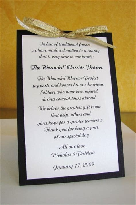 Donation Letter For Wedding 25 Best Ideas About Donation Wedding Favors On Affordable Wedding Favours Wedding