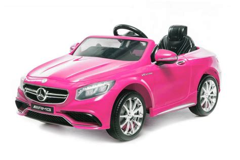 Kinder Auto Pink by Elektroauto F 252 R Kinder Mercedes Amg S63 In Pink
