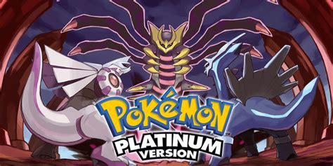 pokemon platinum version nintendo ds games nintendo
