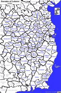Leinster ireland map