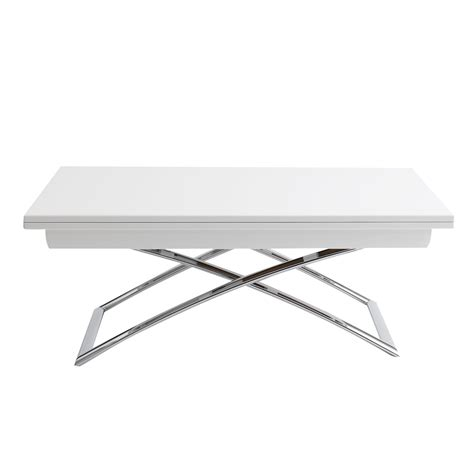 Adjustable Height Coffee Table Ikea Rectangular White Adjustable Height Coffee Table Ikea With X Shaped Leg Homes Showcase