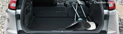 jeep compass 2017 trunk space differences between 2017 jeep and grand