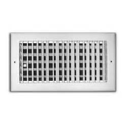 truaire 10 in x 4 in adjustable 1 way wall ceiling
