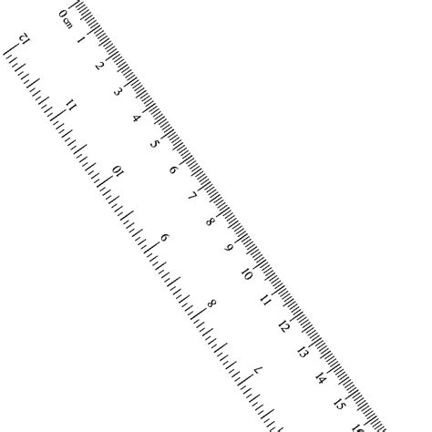 How To Make A Paper Ruler - places to get free printable rulers