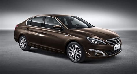 peugeot sedan all new peugeot 408 sedan revealed in china is a longer