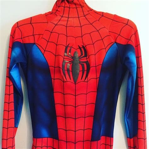 spiderman cosplay pattern lydude702 billy ly deviantart