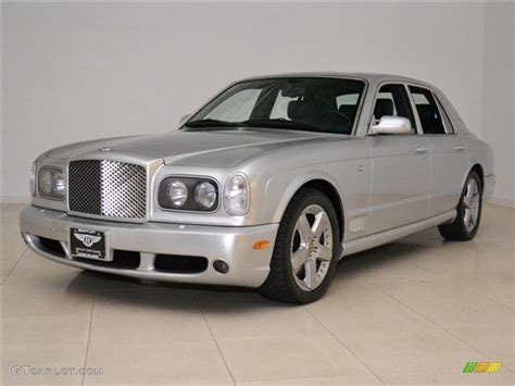 bentley silver 2004 silver bentley arnage t 24 mulliner 46499269 photo