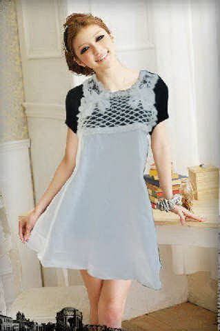 Dress Salur Biru 2 7thn jual dress jual dress murah mini dress cantik