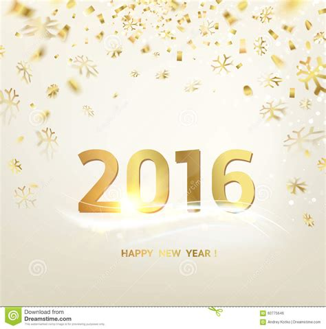 Happy New Year Card Template by Happy New Year Card Template Stock Vector Image 60775646