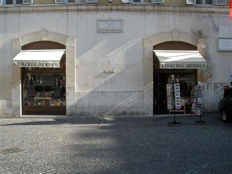 libreria herder roma libreria herder offenbar vor dem aus