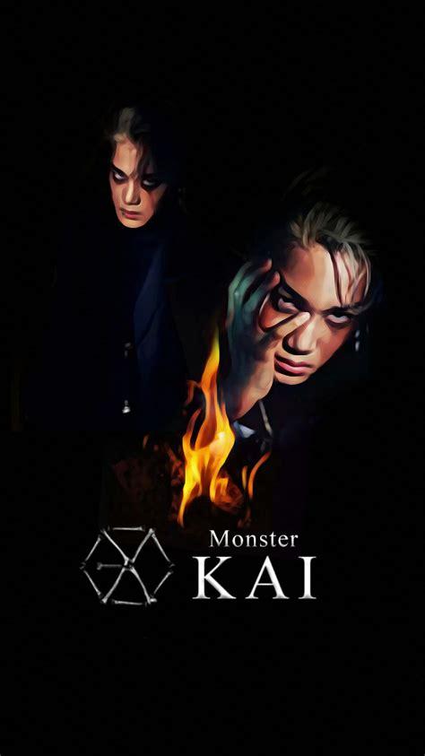 exo iphone wallpaper 2016 wallpaper exo 2016 monster teaser kai by