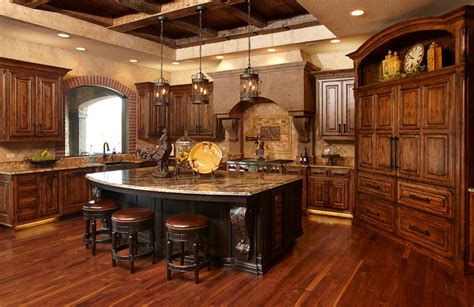 rustic kitchen  knotty alder galleries projects