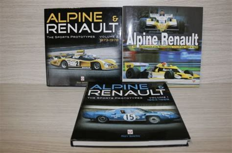 Renault Books by Alpine Renault Books Roy Smith 3x Alpine Renault