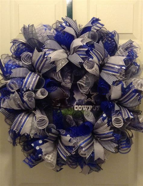Cowboys Decorations by 17 Best Ideas About Dallas Cowboys Wreath On